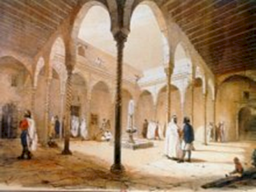 Musee ahmed bey constantine l 39 architecture alg rienne for Architecture ottomane